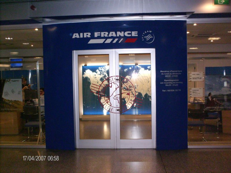 Terminal de air france bruxell - Comptoir air france toulouse ...